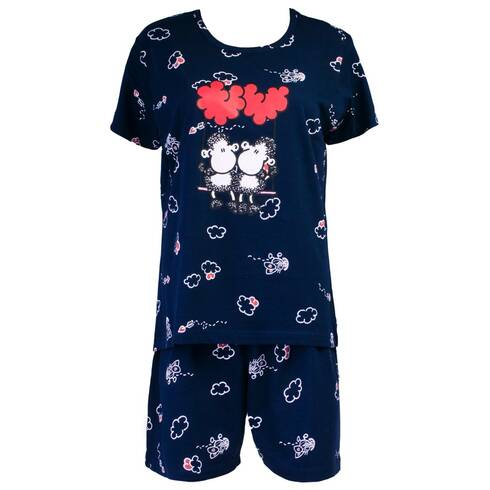 Pijamale dama, bleumarin