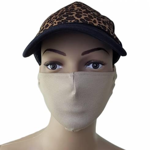 Masca protectie, material textil, crem