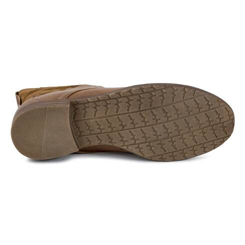 Botine dama Kayla Shoes, maro