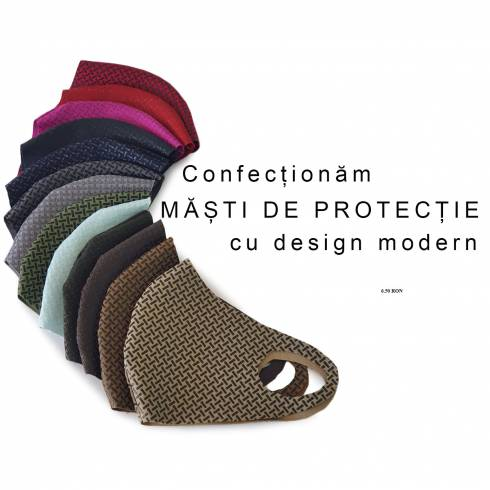 Masti de protectie din material  textil