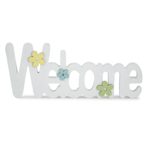 "Tablou decorativ ""WELCOME"""