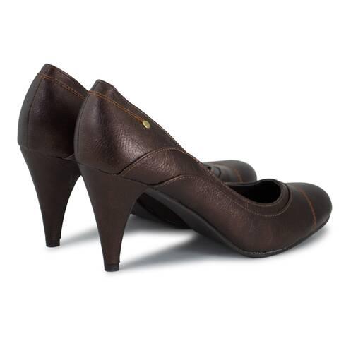 Pantofi dama, Luciano Fabri, maro