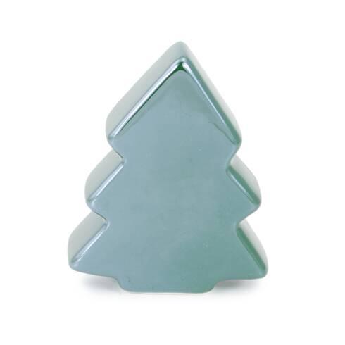 Bradulet decorativ, din ceramica, verde