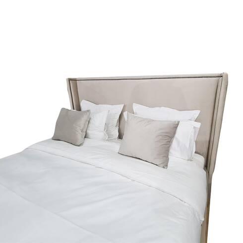 Pat dormitor, Mirage, tapitat