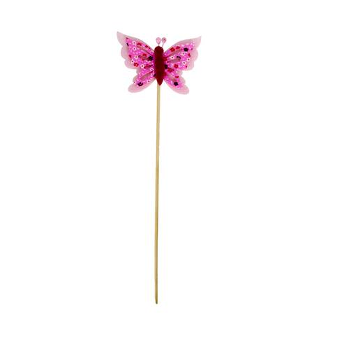 Fluturas decorativ roz