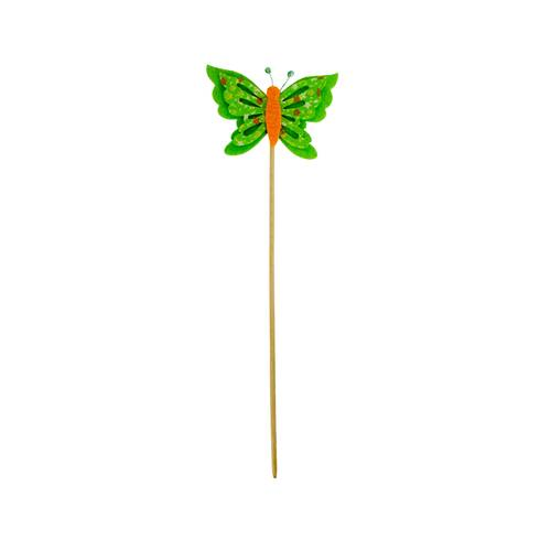 Fluturas decorativ, verde