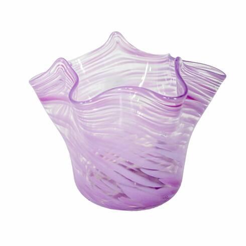 Vas Arlechino din sticla Murano