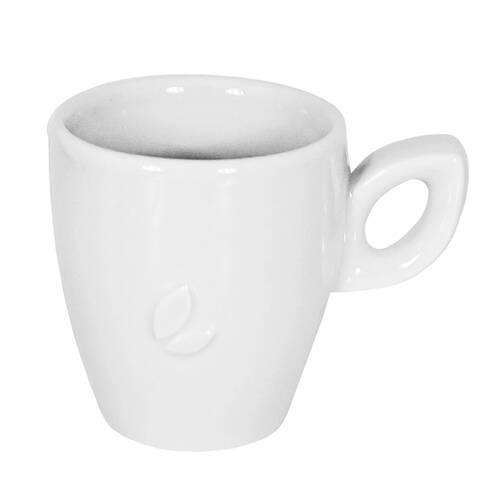 Ceasca cafea Walkure, din ceramica, alba
