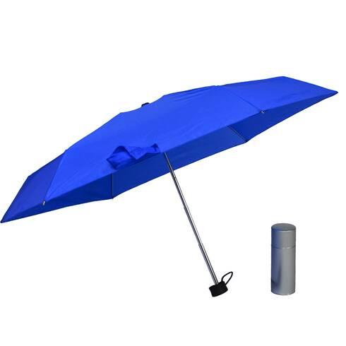 Umbrela pliabila in cutie metalica