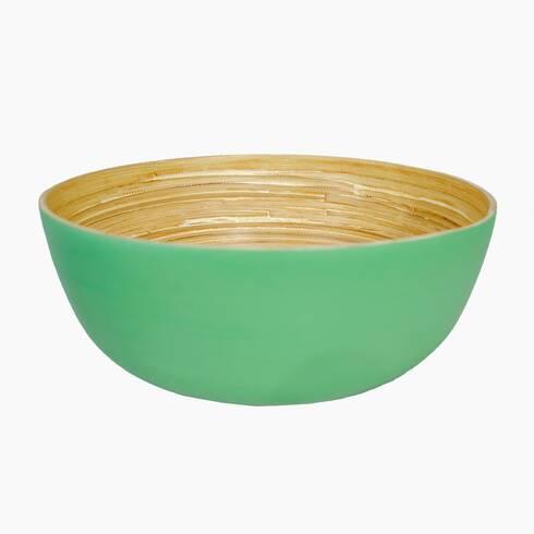 Bol bambus verde, diamentru 30 cm