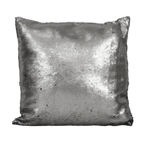 Perna cu paiete reversibile, argintii