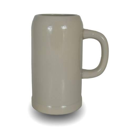 Vaza decorativa din ceramica, grej