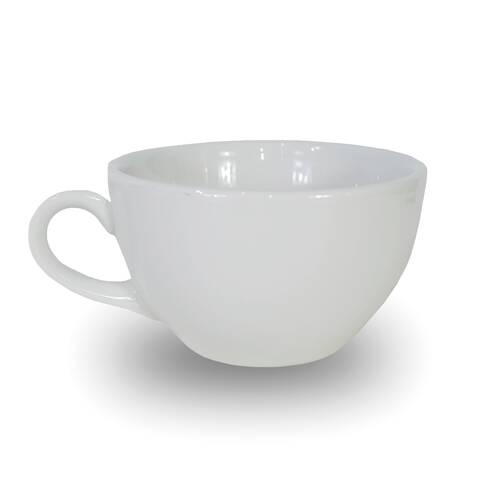 Ceasca alba din ceramica