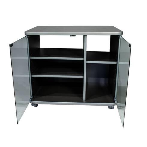 Comoda tv Ciatti, silver