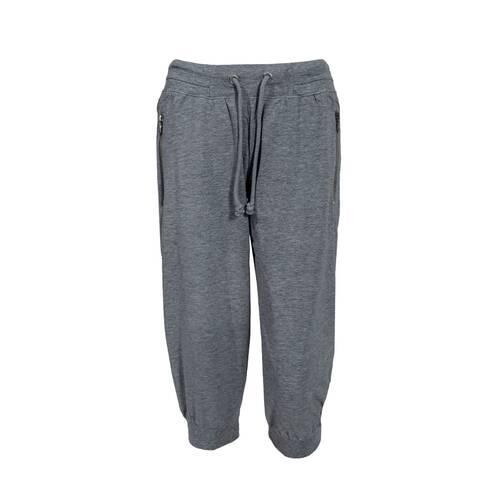 Pantaloni dama, treisferturi, gri