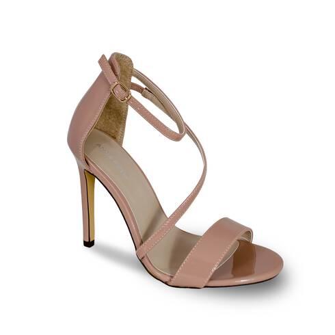 Sandale dama Anna Field, nude