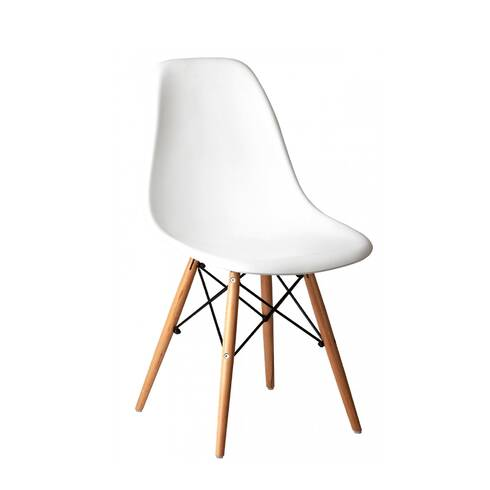 Scaun pentru bucatarie, alb