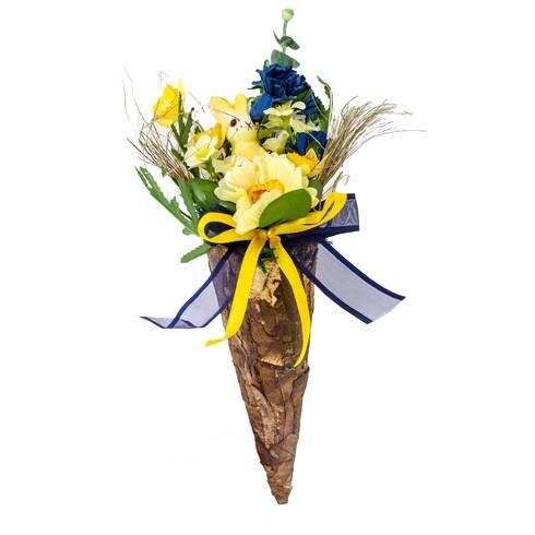 Aranjament floral cu iepuras
