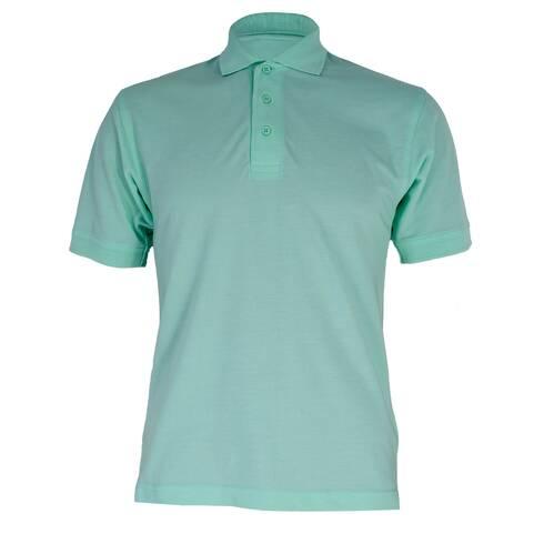 Tricou verde cu guler, Kustom Kit