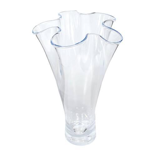 Vaza din sticla, transparent