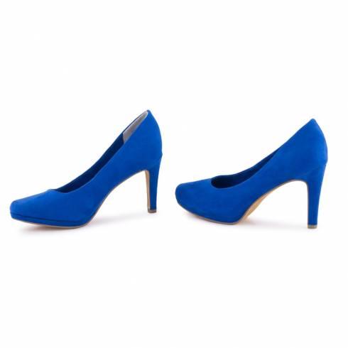 Pantofi dama, Marco Tozzi, albastri