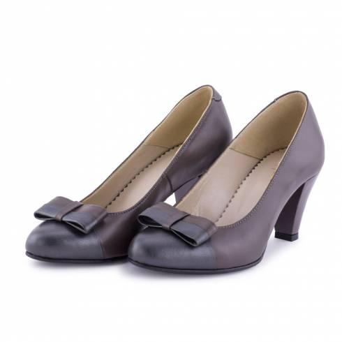 Pantofi dama, Diane Marie, maro, piele naturala