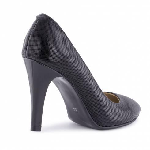 Pantofi dama, Diane Marie, piele naturala, negri