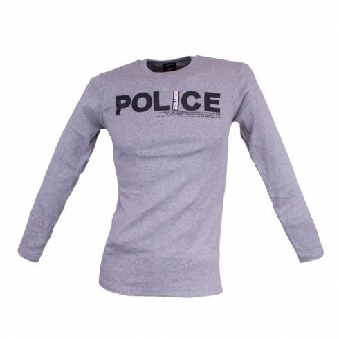 Bluza barbati, Police, gri