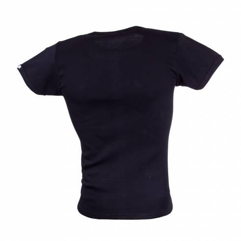 Tricou POLICE ZEBRA negru
