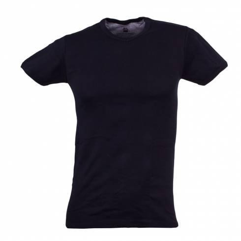 Tricou POLICE negru in anchior V