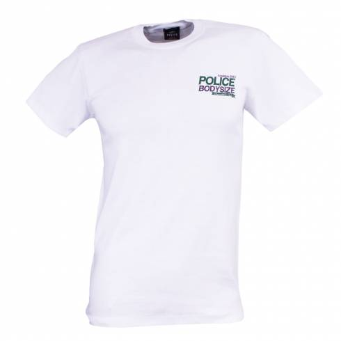 Tricou POLICE alb