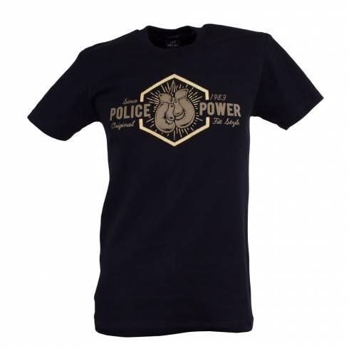 Tricou POLICE negru