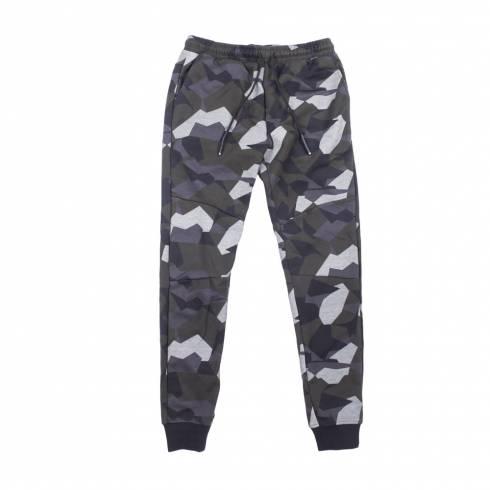 Pantaloni trening barbati, Blaxstone, camuflaj, cu elastic