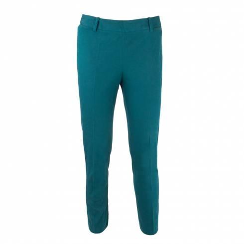Pantaloni dama, din stofa verde