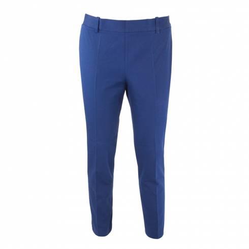 Pantaloni dama, din stofa, albastrii
