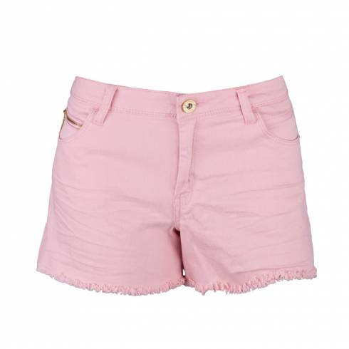 Pantaloni dama, scurti, roz piersica