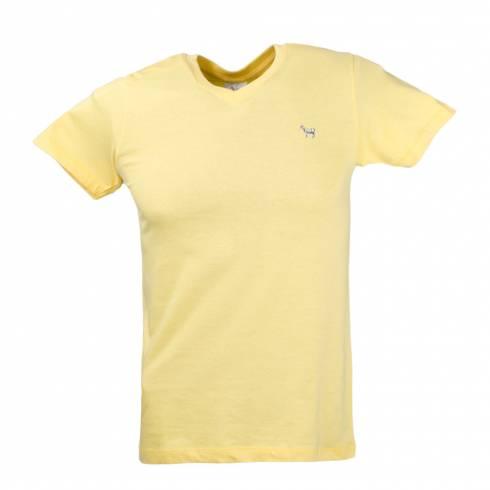 Tricou barbati galben cu anchior