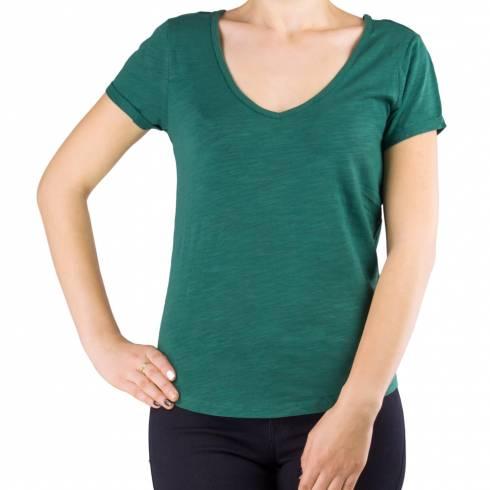 Tricou dama verde cu anchior