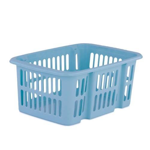 Cosulet depozitare, din plastic, albastru 30x20x12.5 cm