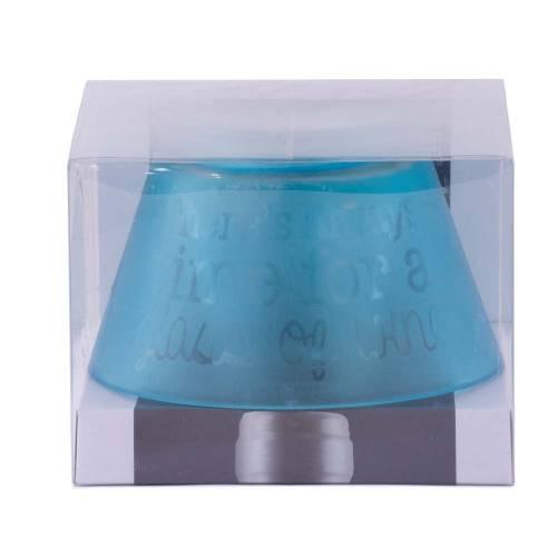 Dop de sticla, in forma de suport candela