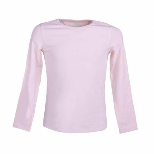 Set 2 bluze de fetite, Pepperts, negru, roz piersica, cu imprimeu floral